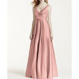 Satin Ball Gown